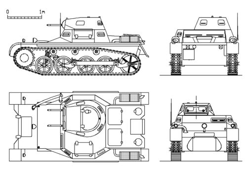 Panzer-I-A-plans